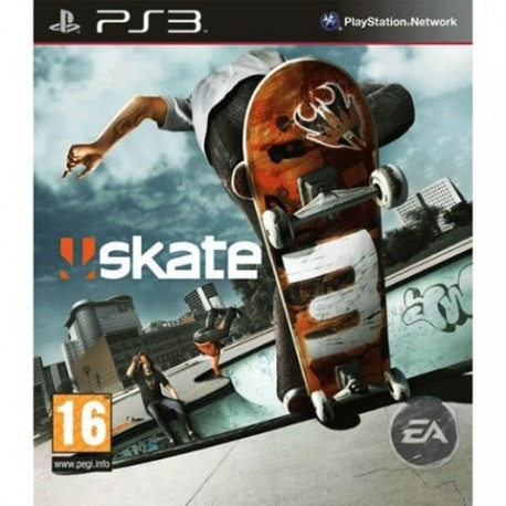 PS3 Skate 3 *No Skate Share Pack* (used)