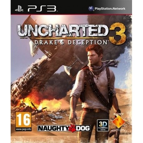 PS3 Uncharted 3: Drake's (used)