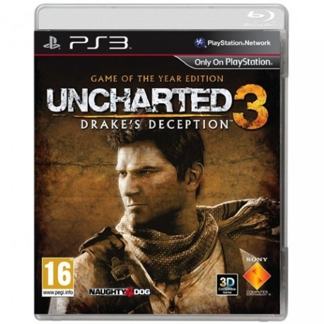 PS3 Uncharted 3: Drakes Deception GOTY (used)