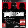 PS3 Wolfenstein: The New Order (used)