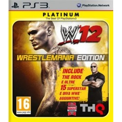 PS3 WWE '12 Wrestlemania Edition (used)