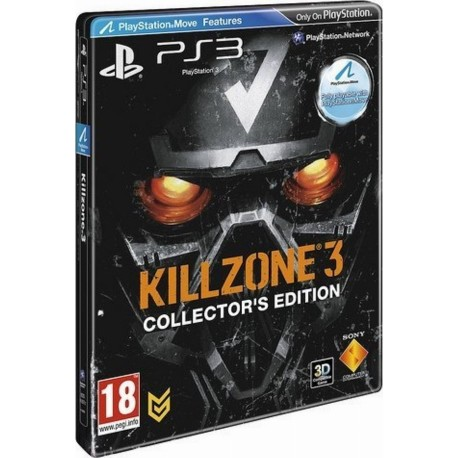 PS3 Killzone 3 (Collector's Steelbook Edition)(used)