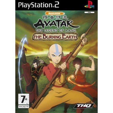 PS2 Avatar - The Burning Earth (used)