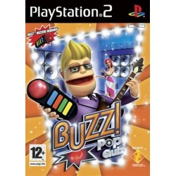PS2 Buzz! Pop Quiz (Without Buzzers) (used)