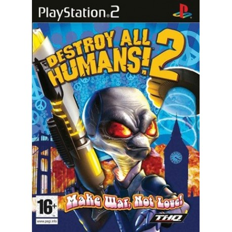 PS2 Destroy All Humans 2 (used)