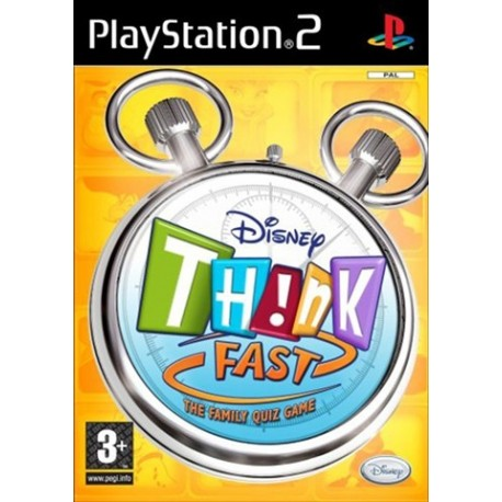 PS2 Disney Think Fast (No Buzzers) (new)